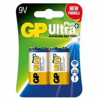 Baterie alkalická, 6LF22, 9V, GP, blistr, 1-pack, ULTRA Plus