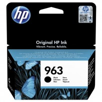HP 963, černá, 24.09ml