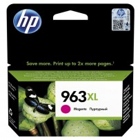 HP originální ink 3JA28AE, HP 963, magenta, 1600str., 22.92ml, high capacity, HP Officejet Pro 9010, 9012, 9014, 9015, 9016, ...