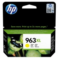 HP originální ink 3JA29AE, HP 963, yellow, 1600str., 22.92ml, high capacity, HP Officejet Pro 9010, 9012, 9014, 9015, 9016, 9...