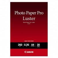 Canon Photo Paper Pro Luster, foto papír, lesklý, bílý, A4, 260 g/m2, 20 ks, 6211B006, inkoustový