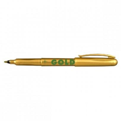 Centropen, popisovač 2670, zlatý, 10ks, 1mm, světlostálý, cena za 1ks