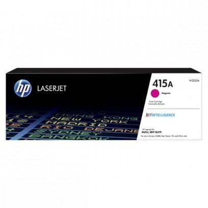 HP originální toner W2033A, magenta, 2100str., HP 415A, HP Color LaserJet Pro M454, MFP M479
