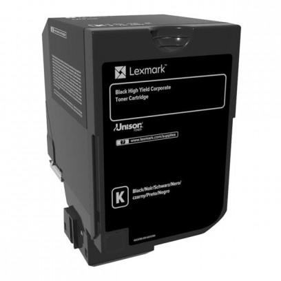 Lexmark originální toner 74C2SK0, black, 7000str., return, Lexmark CS720de,CS720dte,CS725de,CS725dte,CX725de