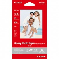 """Canon Glossy Photo Paper, foto papír, lesklý, GP-501, bílý, 10x15cm, 4x6"""", 210 g/m2, 50 ks, 0775B081, inkoustový"""