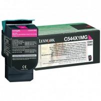 Lexmark originální toner C544X1MG, magenta, 4000str., return, extra high capacity, Lexmark X544x