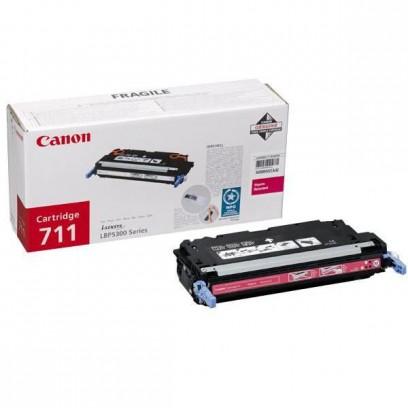 Canon originální toner CRG711, magenta, 6000 stran