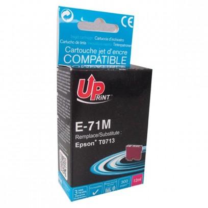 UPrint kompatibilní ink s C13T07134011, magenta, 11ml, E-71M, pro Epson D78, DX4000, DX4050, DX5000, DX5050, DX6000, DX605