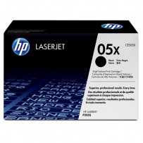 HP originální toner CE505X, black, 6500str., HP 05X, high capacity, HP LaserJet P2055