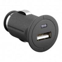 USB nabíječka, 12V, 5V, 1000mA, nabíjení mobilních telefonů a GPS, mini
