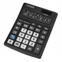 Citizen Kalkulačka CMB1001-BK, černá, stolní, desetimístná, duální napájení