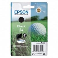Epson originální ink C13T34614010, T346140, black, 6.1ml, Epson WF-3720DWF, 3725DWF