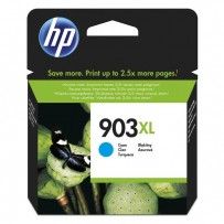 HP originální ink T6M03AE, HP 903XL, cyan, 825str., 9.5ml, high capacity, HP Officejet 6962,Pro 6960,6961,6963,6964,6965,6966