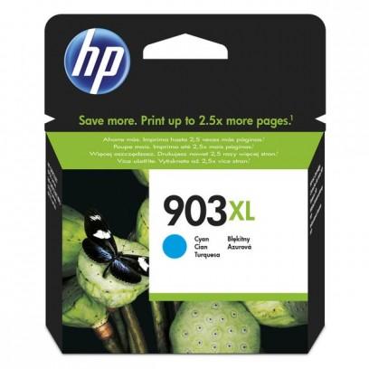 HP originální ink T6M03AE, HP 903XL, cyan, 825str., 9.5ml, high capacity, HP Officejet 6962,Pro 6960,6961,6963,6964,6965,6966