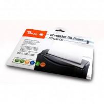 Olejový papír, pro skartovací stroje, A4, 12 ks, Peach