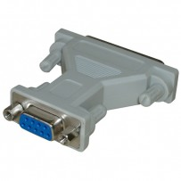 Myš Redukce, sériový port, 25 pin M-9 pin F, 0, šedá