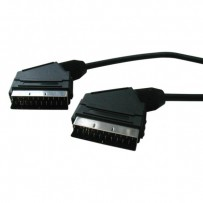 Kabel Scart M- Scart M, SCART, 5m, černá
