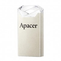 Apacer USB flash disk, 2.0, 16GB, AH111, stříbrný, AP16GAH111CR-1