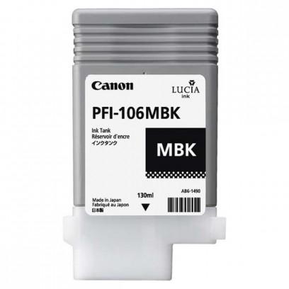 Canon originální ink PFI106MBk, matte black, 130ml, 6620B001, Canon iPF-6300