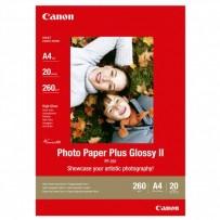 Canon Photo Paper Plus Glossy, foto papír, lesklý, bílý, A4, 260 g/m2, 20 ks, PP-201 A4, inkoustový