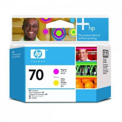HP originální tisková hlava C9406A, HP 70, magenta/yellow, HP Photosmart Pro B9180, Designjet Z2100, Z3100