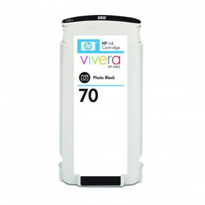 HP originální ink C9449A, HP 70, photo black, 130ml, HP Designjet Z3100, Z2100