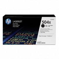 HP originální toner CE250XD, black, 10500str., HP 504X, HP Color LaserJet CP3525, CP3527, CP3529, Dual pack, 2ks