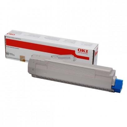 OKI originální toner 44059167, cyan, 7300str., OKI MC851, MC861
