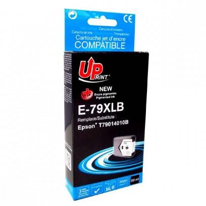 UPrint kompatibilní ink s C13T79014010, C13T79014010, 79XL, XL, black, 2600str., 50ml, E-79XLB, 1ks, pro Epson WorkForce Pro ...