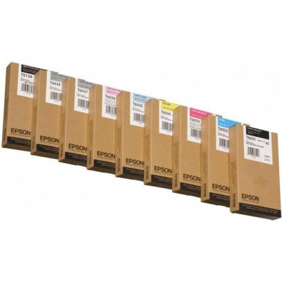 Epson originální ink C13T603400, yellow, 220ml, Epson Stylus Pro 7800, 7880, 9800, 9880