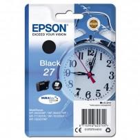 Epson originální ink C13T27014012, 27, black, 6,2ml, Epson WF-3620, 3640, 7110, 7610, 7620