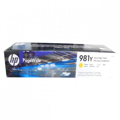 HP originální ink L0R15A, HP 981Y, yellow, 16000str., 185ml, extra high capacity, HP PageWide MFP E58650, 556, Flow 586