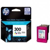 HP originální ink CC643EE, HP 300, color, 165str., 4ml, HP DeskJet D2560, F4280, F4500