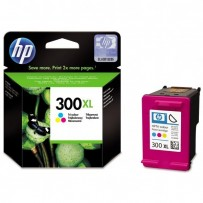 HP originální ink CC644EE, HP 300XL, color, 440str., 11ml, HP DeskJet D2560, F4280, F4500