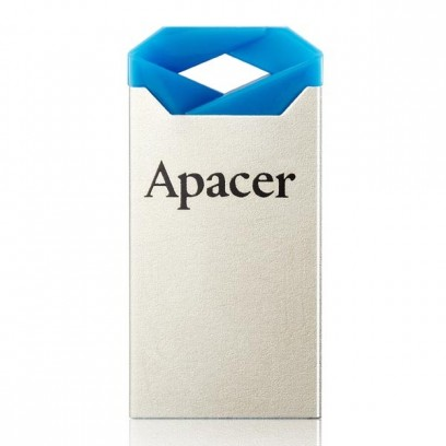 Apacer USB flash disk, 2.0, 64GB, AH111, stříbrný, modrý, AP64GAH111U-1