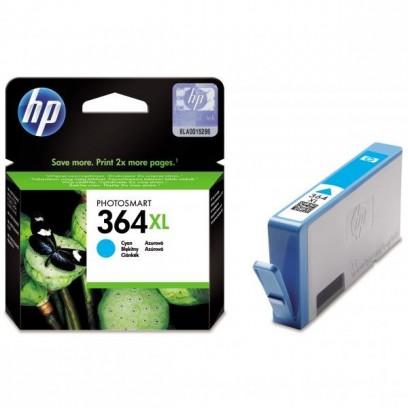 HP 364XL, HP CB323EE modrá, 6ml