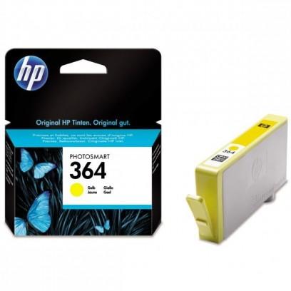 HP 364, HP CB320EE žlutá, blistr, 3ml