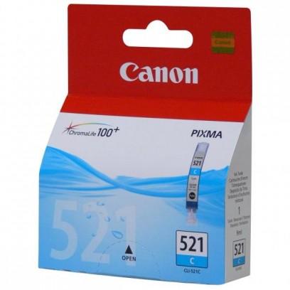 Canon CLI-521C modrá, blistr, 9ml
