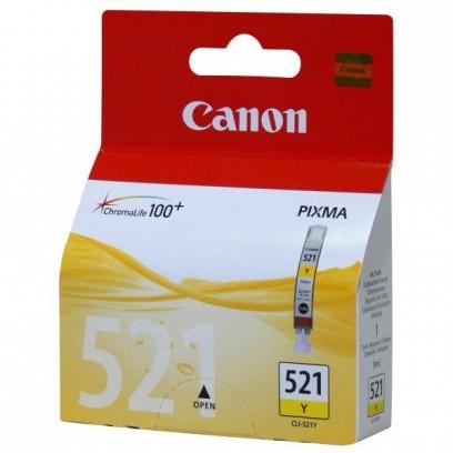Canon CLI-521Y žlutá, blistr, 9ml