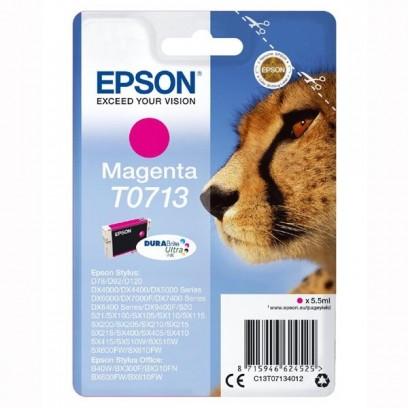 Epson T0713 červená, 5.5ml, blistr