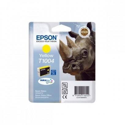 Epson originální ink C13T10044010, yellow, 11,1ml, Epson Stylus Office B40W, BX600FW