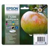 Zvýhodněná sada Epson T1295 černá + modrá + červená + žlutá