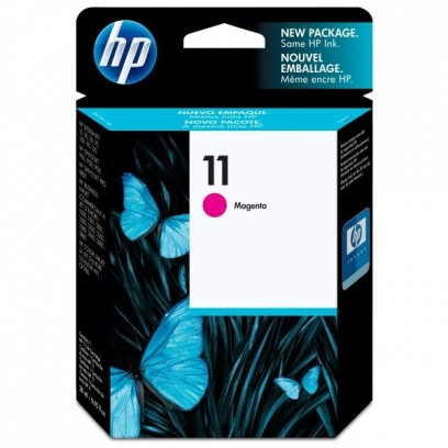 HP originální ink C4837AE, HP 11, magenta, 1750str., 28ml, HP Business InkJet 2xxx, DesignJet 100, 10PS, 20PS
