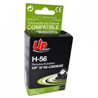 Kompatibilní HP 56, HP C6656AE černá, 25ml