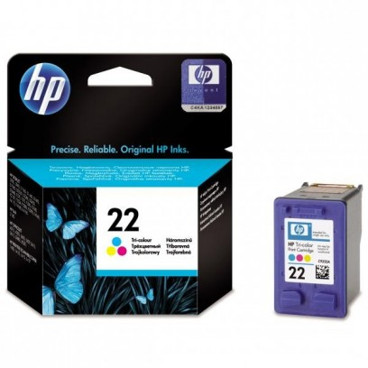 HP C9352AE, HP 22 barevná, 5ml