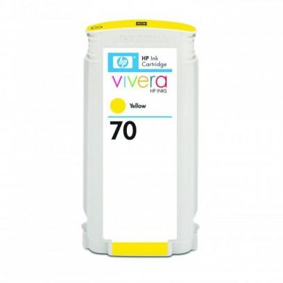 HP originální ink C9454A, HP 70, yellow, 130ml, HP Designjet Z3100, Z2100
