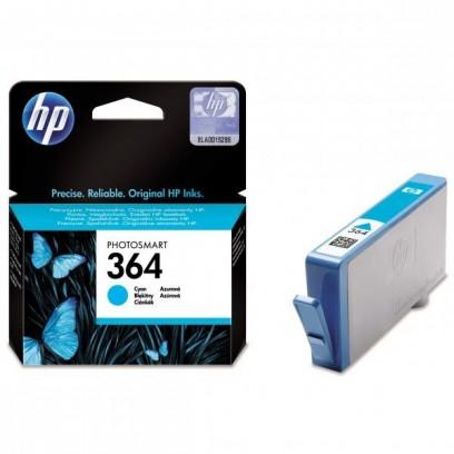 HP 364, HP CB318EE modrá, 3ml