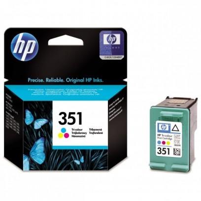 HP originální ink CB337EE, HP 351, color, 3,5ml, HP Officejet J5780, J5785