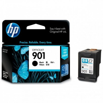 HP originální ink CC653AE, HP 901, black, 200str., 4ml, HP OfficeJet J4580