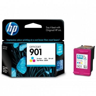 HP originální ink CC656AE, HP 901, color, 360str., 9ml, HP OfficeJet J4580